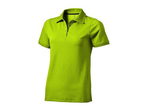 """Рубашка поло """"Yukon"""" женская, зеленое яблоко"""