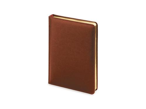 Ежедневник А5 датированный «Sidney Nebraska» 2019, коричневый