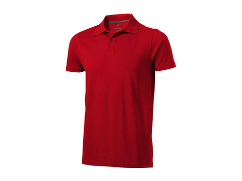 "Рубашка поло ""Seller"" мужская, красный"