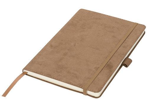 Блокнот А5 «Suede», коричневый