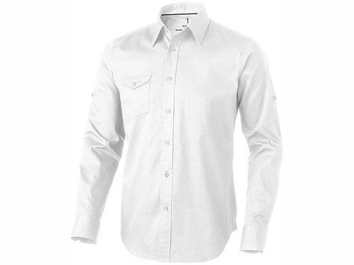 """Рубашка """"Nunavut"""" мужская с длинным рукавом, белый"""