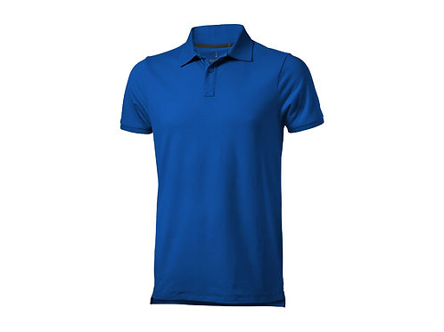 """Рубашка поло """"Yukon"""" мужская, синий"""
