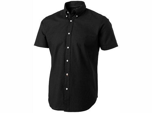 """Рубашка """"Manitoba"""" мужская с коротким рукавом, черный"""