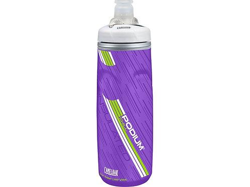 Бутылка CamelBak Podium ChilL 0,62л, фиолетовый/белый/зеленый