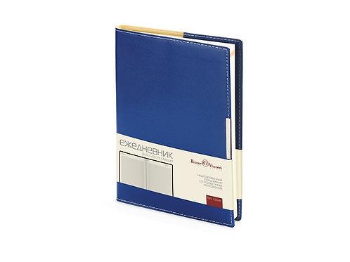 Ежедневник недатированный А5 «Metropol», синий