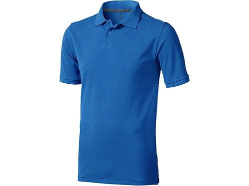 """Рубашка поло """"Calgary"""" мужская, синий"""