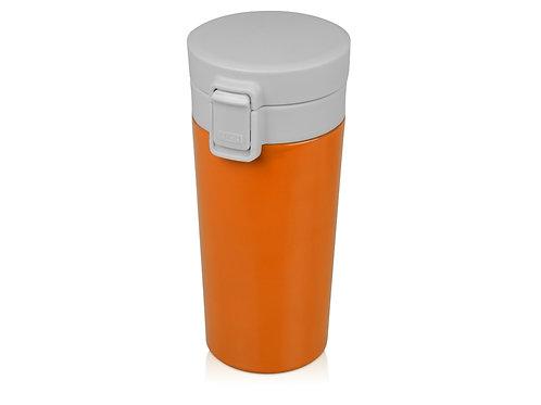 Герметичная термокружка «Trigger» 380мл, оранжевый