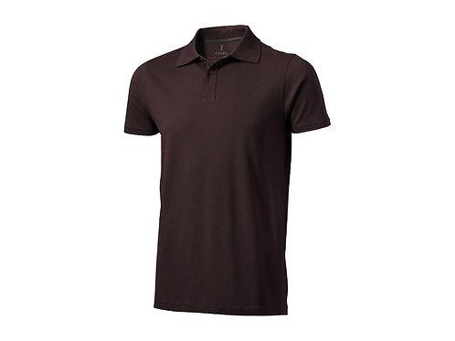 """Рубашка поло """"Seller"""" мужская, шоколадный коричневый"""
