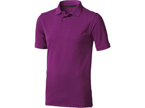 """Рубашка поло """"Calgary"""" мужская, темно-фиолетовый"""