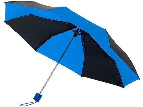 """Зонт Spark 21"""" трехсекционный механический, черный/cиний"""