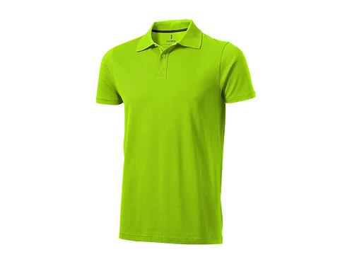 """Рубашка поло """"Seller"""" мужская, зеленое яблоко"""