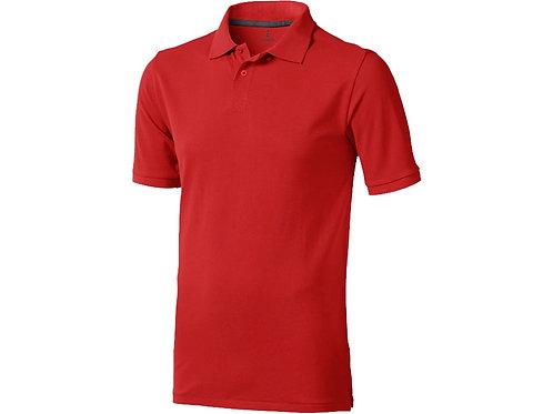 """Рубашка поло """"Calgary"""" мужская, красный"""