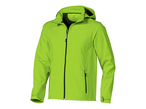 """Куртка софтшел """"Langley"""" мужская, зеленое яблоко"""
