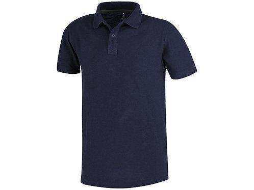 Рубашка поло «Primus» мужская, темно-синий