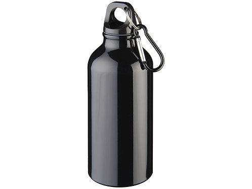 """Бутылка """"Oregon"""" с карабином, черный"""