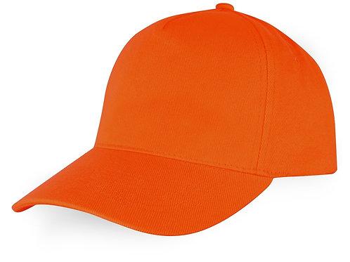 """Бейсболка """"Florida C"""" 5-ти панельная, оранжевый"""