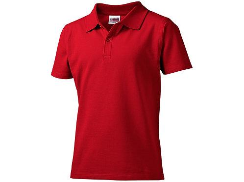"""Рубашка поло """"First"""" детская, красный"""