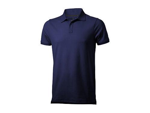 """Рубашка поло """"Yukon"""" мужская, темно-синий"""