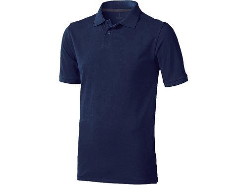 "Рубашка поло ""Calgary"" мужская, темно-синий"