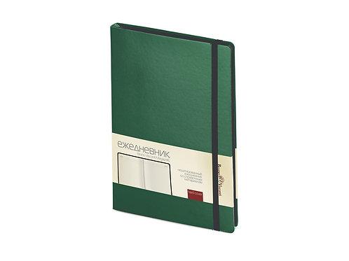 Ежедневник А5 недатированный «Megapolis Soft», зеленый