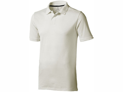 "Рубашка поло ""Calgary"" мужская, светло-серый"
