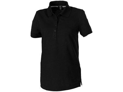"""Рубашка поло """"Crandall"""" женская, черный"""