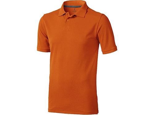 """Рубашка поло """"Calgary"""" мужская, оранжевый"""