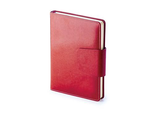 Ежедневник А5 недатированный «Prestige», красный