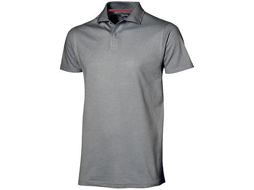 "Рубашка поло ""Advantage"" мужская, серый"
