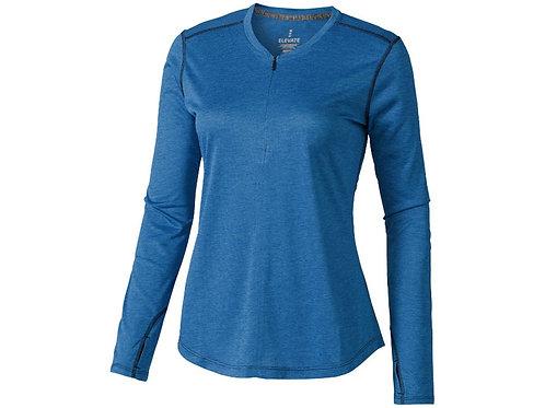"""Лонгслив """"Quadra"""" женский с длинным рукавом, синий"""