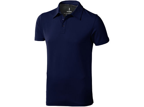 "Рубашка поло ""Markham"" мужская, темно-синий/антрацит"