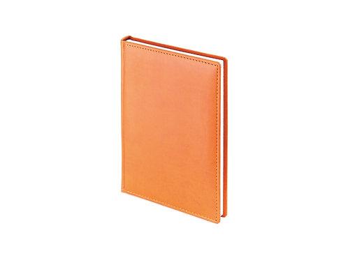 Ежедневник А5 датированный «Velvet» 2019, оранжевый