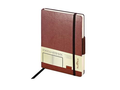 Ежедневник В6 недатированный «Zenith», коричневый