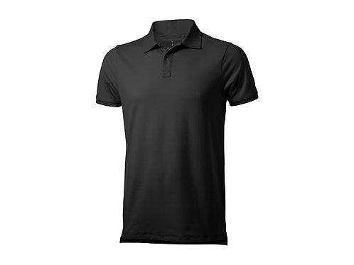 "Рубашка поло ""Yukon"" мужская, антрацит"
