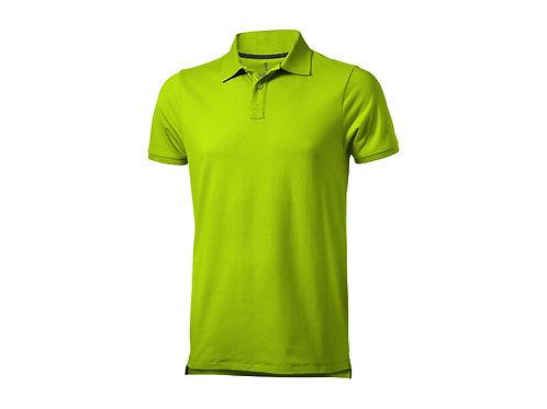 """Рубашка поло """"Yukon"""" мужская, зеленое яблоко"""