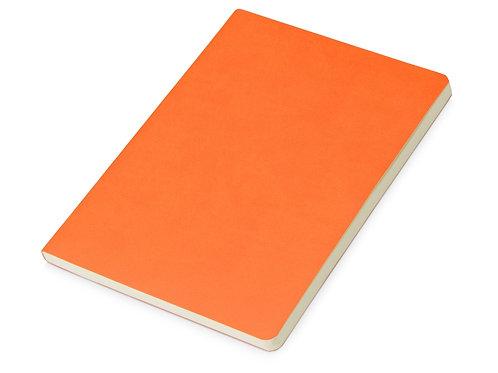 Блокнот «Wispy» линованный в мягкой обложке, оранжевый
