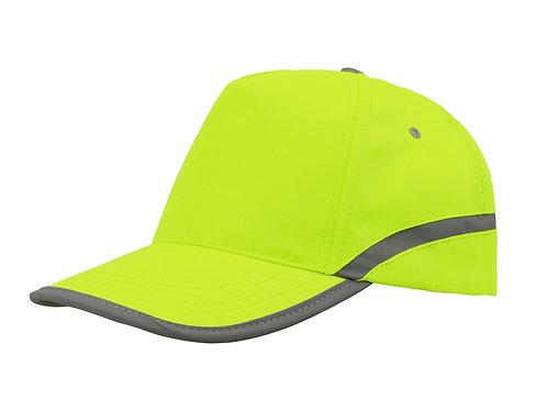 """Бейсболка 5-ти панельная """"Neon"""", желтый"""