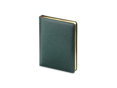 Ежедневник недатированный А6+ «Sidney Nebraska», зеленый
