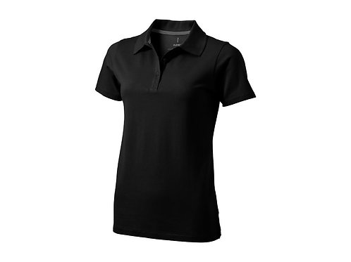 """Рубашка поло """"Seller"""" женская, черный"""