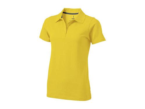 "Рубашка поло ""Seller"" женская, желтый"