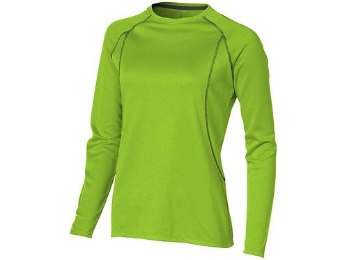 """Футболка """"Whistler"""" женская с длинным рукавом, зеленое яблоко"""