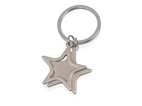 Брелок «Star», серебристый