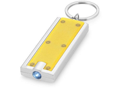 """Брелок-фонарик """"Castor"""", желтый"""