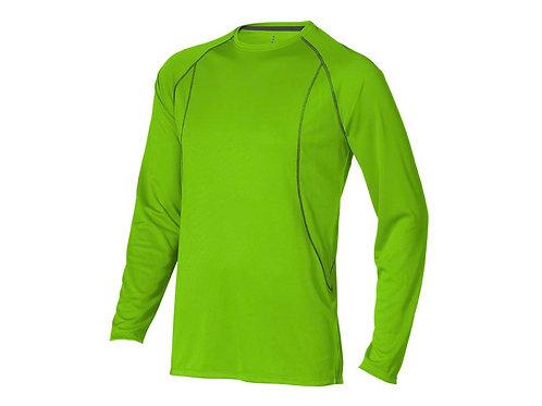 """Футболка """"Whistler"""" мужская с длинным рукавом, зеленое яблоко"""