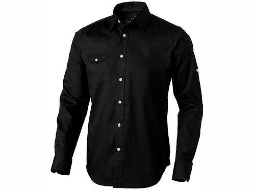 """Рубашка """"Nunavut"""" мужская с длинным рукавом, черный"""