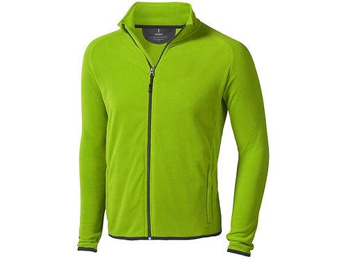 """Куртка флисовая """"Brossard"""" мужская, зеленое яблоко"""