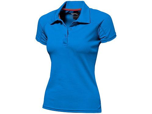"""Рубашка поло """"Game"""" женская, небесно-голубой"""