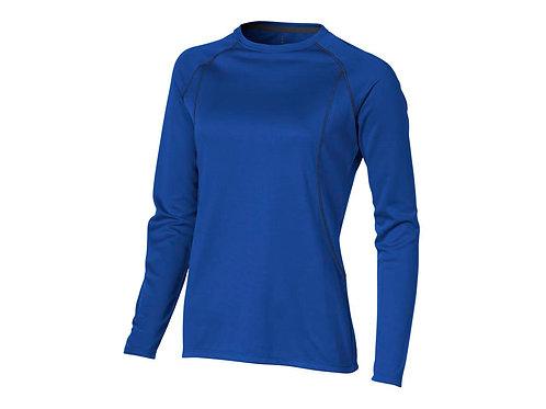 """Футболка """"Whistler"""" женская с длинным рукавом, синий"""