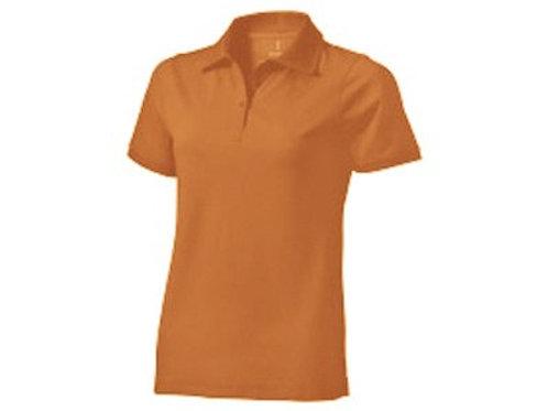 """Рубашка поло """"Yukon"""" женская, оранжевый"""