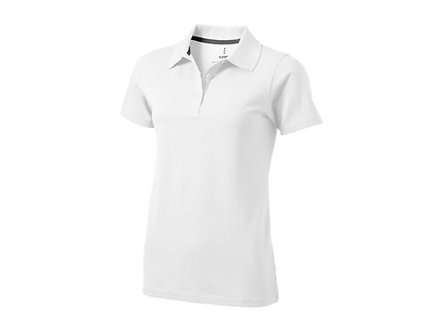 """Рубашка поло """"Seller"""" женская, белый"""